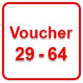voucher 29-64, Επιδοτούμενα προγράμματα